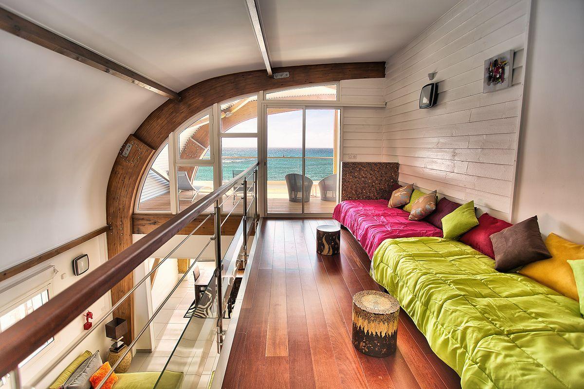 Blu Loft mezzanine